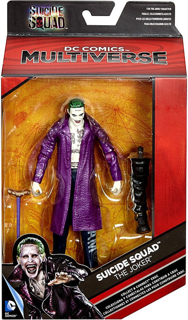 DC Suicide Squad Multiverse Croc Series The Joker Action Figure [Purple Jacket]