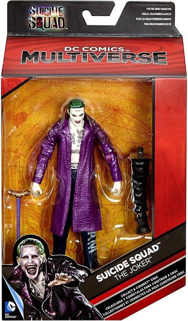 DC Suicide Squad Multiverse Croc Series The Joker Action Figure [Purple Jacket]