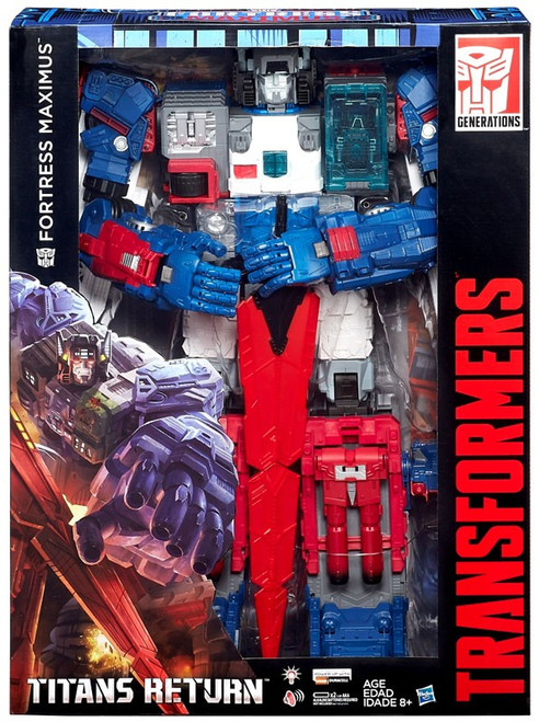Transformers Generations Titans Returns Fortress Maximus Exclusive Action Figure
