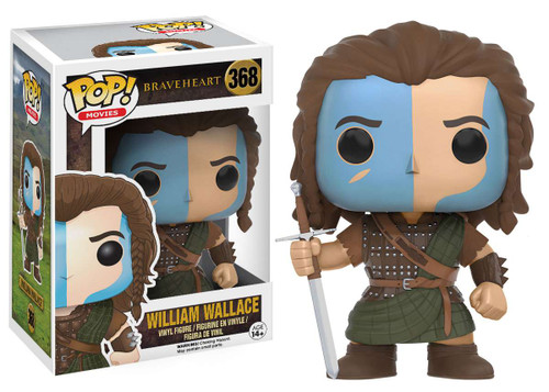 Funko Braveheart POP! Movies William Wallace Vinyl Figure #368