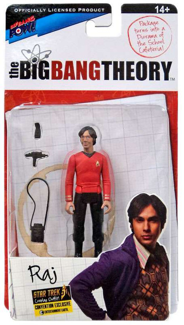 The Big Bang Theory Series Three Raj Exclusive Action Figure [Star Trek]