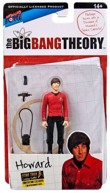 The Big Bang Theory Series Three Howard Exclusive Action Figure [Star Trek]