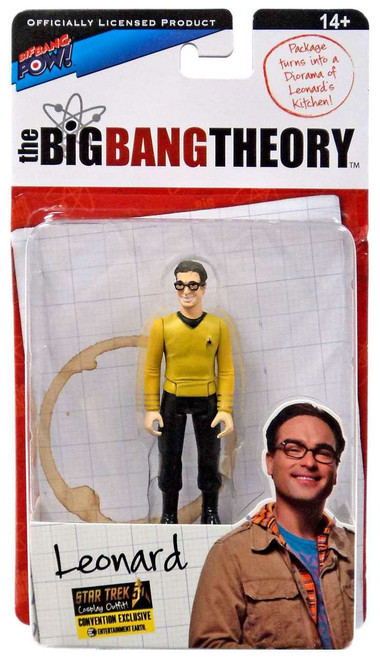 The Big Bang Theory Series Three Leonard Exclusive Action Figure [Star Trek]