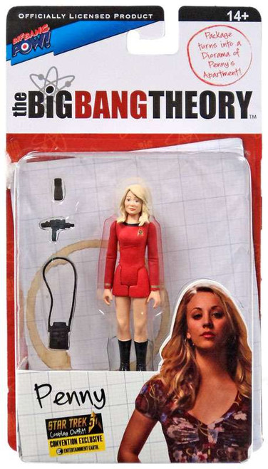 The Big Bang Theory Series Three Penny Exclusive Action Figure [Star Trek]