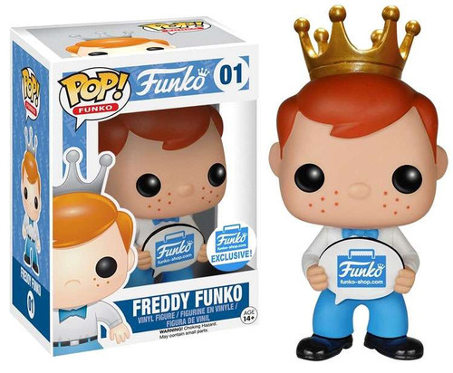 POP! Freddy Funko Exclusive Vinyl Figure #01 [Funko-Shop]