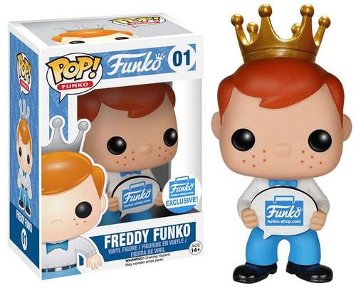 POP! Funko Freddy Funko Exclusive Vinyl Figure #01 [Funko-Shop]