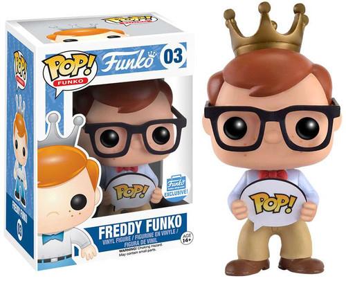 POP! Freddy Funko Exclusive Vinyl Figure #03 [POP!]