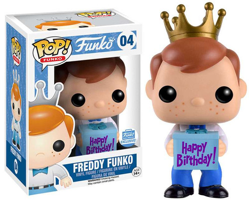 POP! Freddy Funko Exclusive Vinyl Figure #04 [Happy Birthday!]