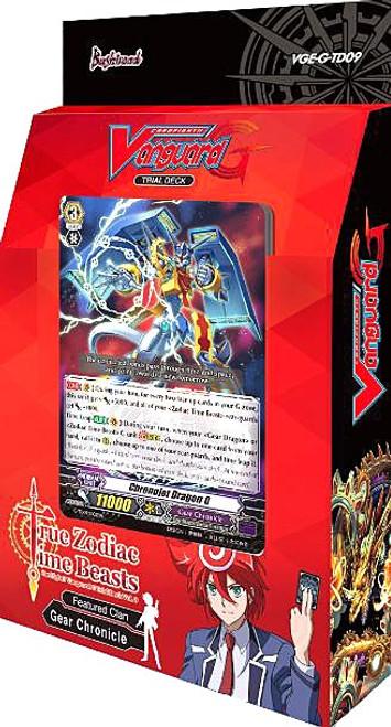 Cardfight Vanguard Trading Card Game True Zodiac Time Beasts Trial Deck VGE-G-TD09