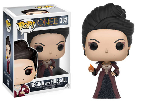 Funko Once Upon a Time POP! TV Regina with Fireball Vinyl Figure #382