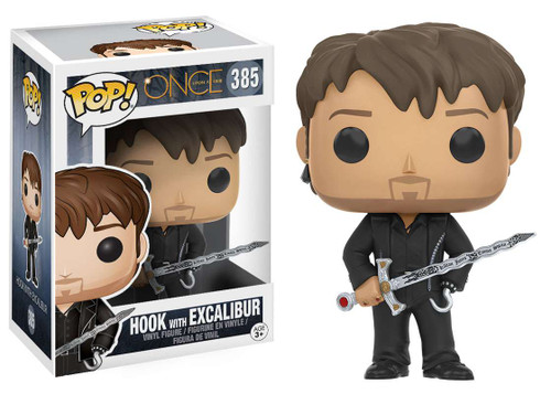 Funko Once Upon a Time POP! TV Hook with Excalibur Vinyl Figure #385