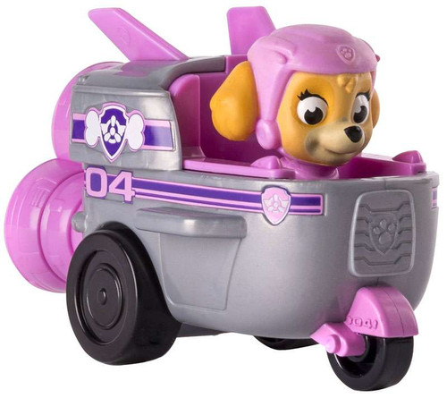 Paw Patrol Racer Skye Spaceship Exclusive Figure [Figure Does Not Come Out!]