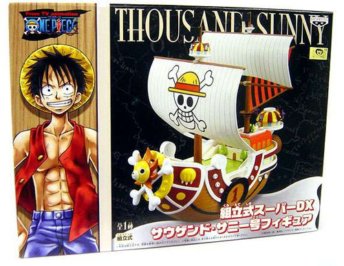 One Piece DX Straw Hat Pirate Ship Thousand Sunny PVC Figure