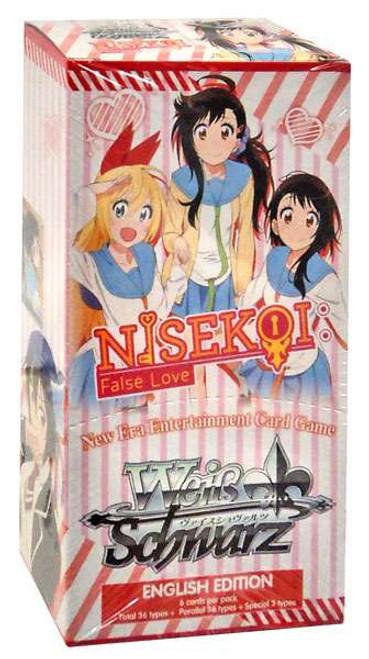 Weiss Schwarz Nisekoi False Love (English) Extra Booster Box [6 Packs]