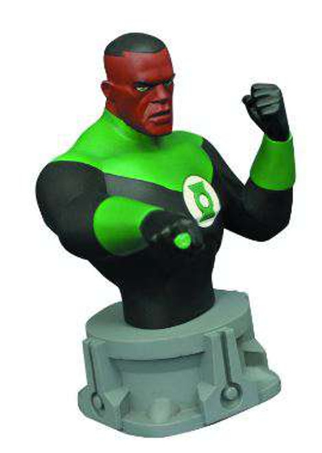 Justice League The Animated Series Green Lantern 6-Inch Bust