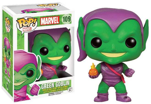 Funko Spider-Man POP! Marvel Green Goblin Exclusive Vinyl Figure #109
