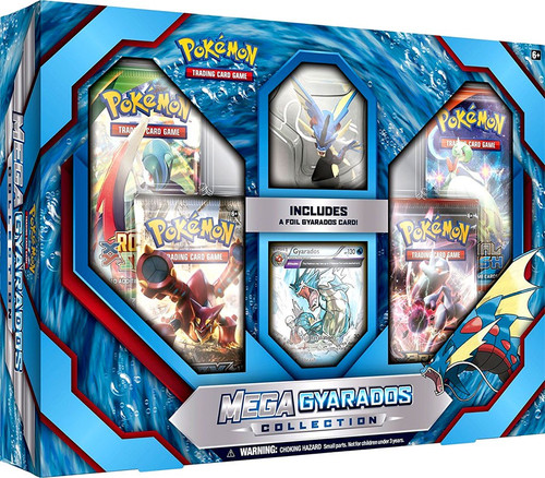 Pokemon Trading Card Game XY Mega Gyarados Collection [4 Booster Packs, Promo Card & Figure]