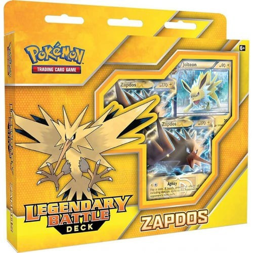 Pokemon Trading Card Game Zapdos EX Legendary Battle Deck [60 Cards]