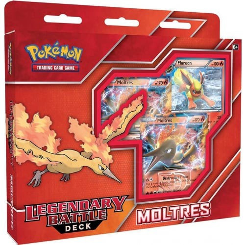 Pokemon Trading Card Game 2016 Moltres EX Legendary Battle Deck