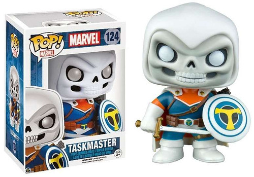 Funko POP! Marvel Taskmaster Exclusive Vinyl Figure #124