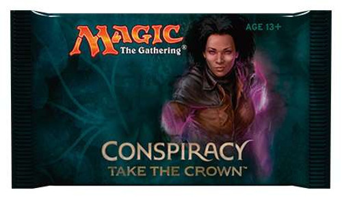 MtG Trading Card Game Conspiracy 2: Take the Crown Booster Pack