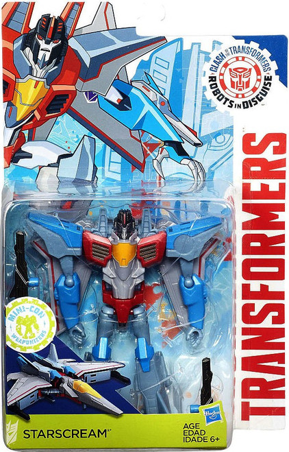 Transformers Robots in Disguise Starscream Exclusive Warrior Action Figure