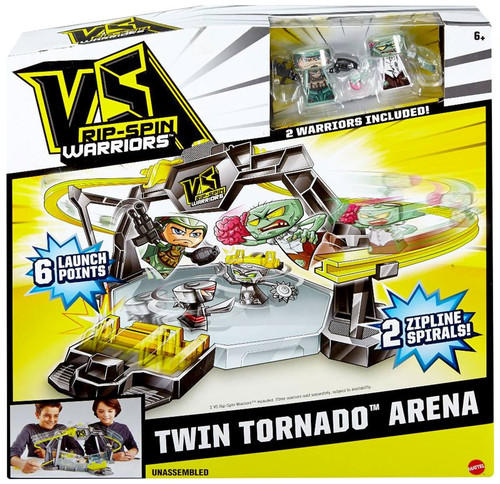 VS Rip-Spin Warriors Twin Tornado Arena Playset [2 Warrior Included]