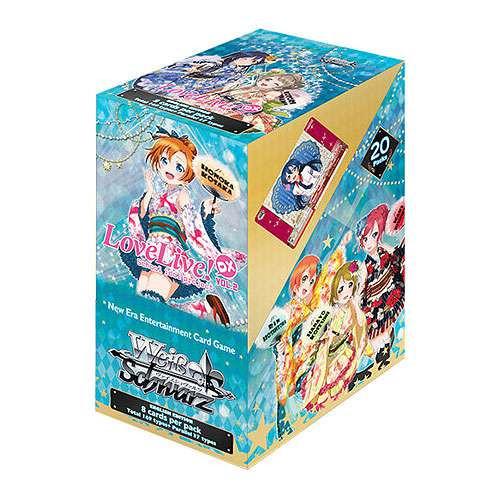 Weiss Schwarz Love Live! DX Vol. 2 Booster Box [20 Packs]