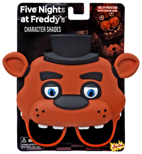 Five Nights at Freddy's Sun-staches Character Shades Freddy Fazbear Sunglasses