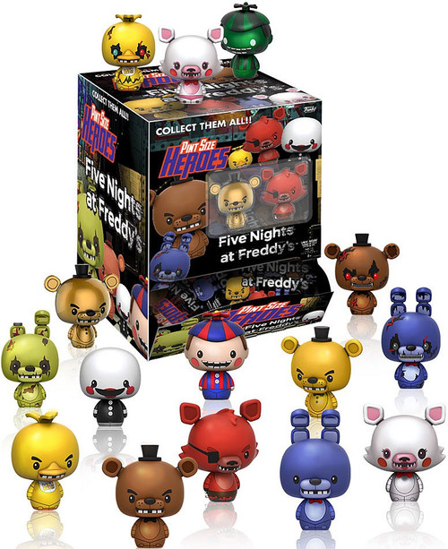 Funko Five Nights at Freddy's Pint Size Heroes Series 1 Mystery Box [24 Packs]