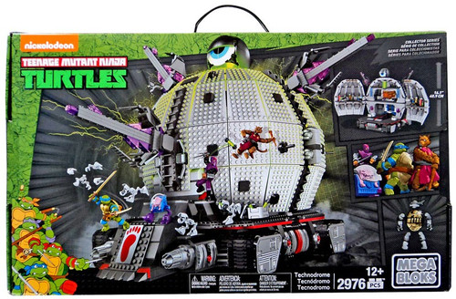 Mega Bloks Teenage Mutant Ninja Turtles Animation Technodrome Exclusive Set #31501