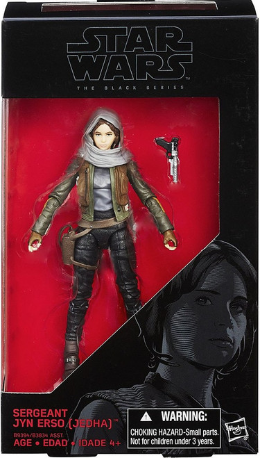 Star Wars Rogue One Black Series Sergeant Jyn Erso (Jedha) Action Figure