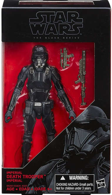 Star Wars Rogue One Black Series Imperial Death Trooper Action Figure