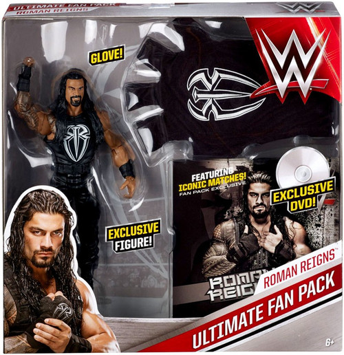 WWE Wrestling Roman Reigns Ultimate Fan Pack