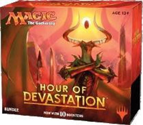 MtG Trading Card Game Hour of Devastation Bundle [Includes 10 Booster Packs!]