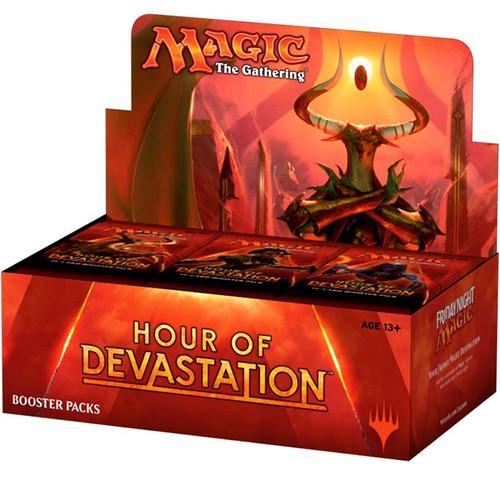 MtG Trading Card Game Hour of Devastation Booster Box [36 Packs]