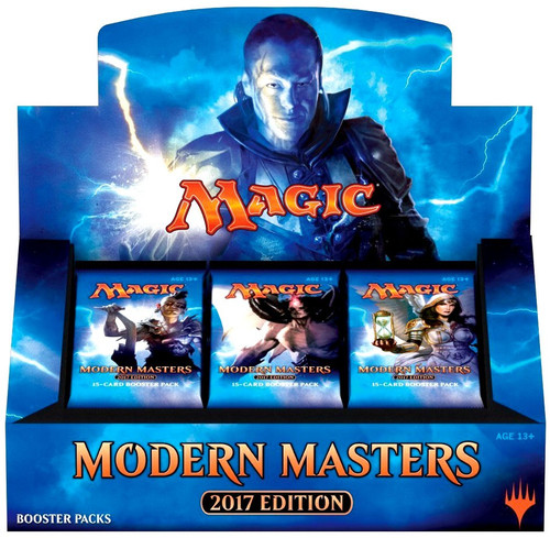 MtG Trading Card Game 2017 Modern Masters Booster Box [24 Packs]