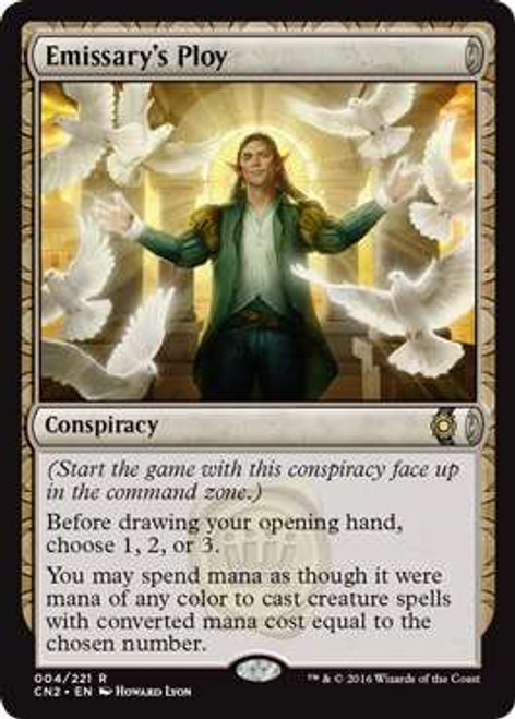 MtG Conspiracy: Take the Crown Rare Emissary's Ploy #4