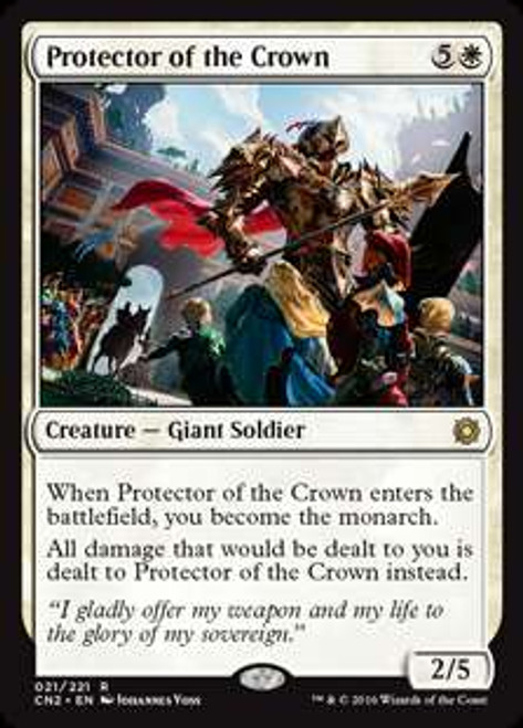 MtG Conspiracy: Take the Crown Rare Protector of the Crown #21