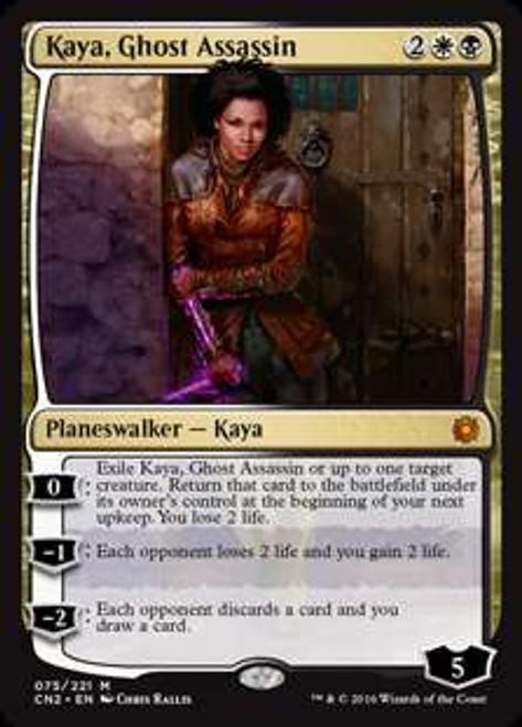 MtG Conspiracy: Take the Crown Mythic Rare Kaya, Ghost Assassin #75