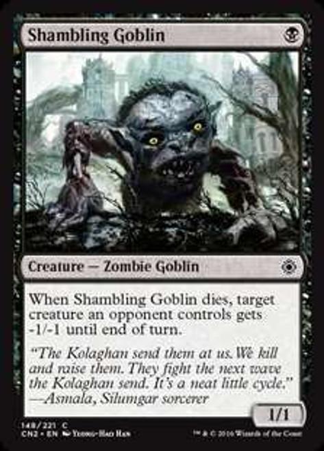 MtG Conspiracy: Take the Crown Common Shambling Goblin #148
