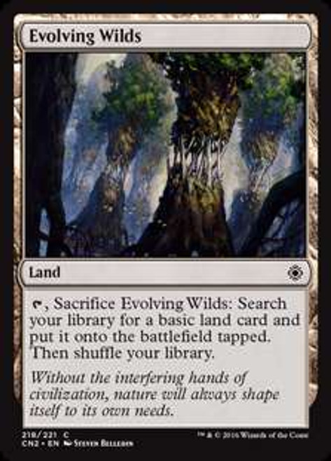 MtG Conspiracy: Take the Crown Common Evolving Wilds #218