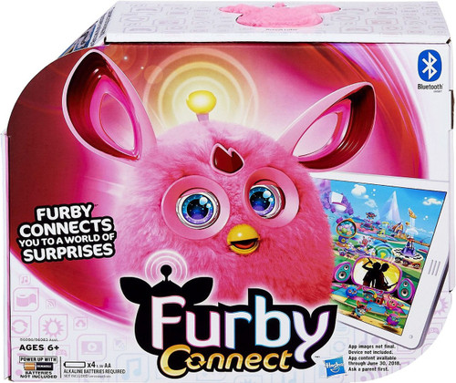 Furby Connect Pink Figure