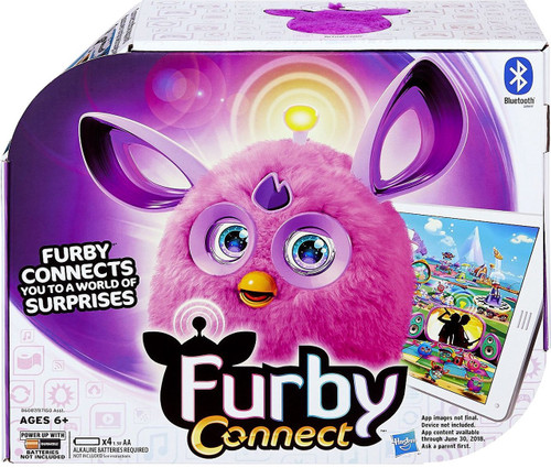 Furby Connect Purple Figure