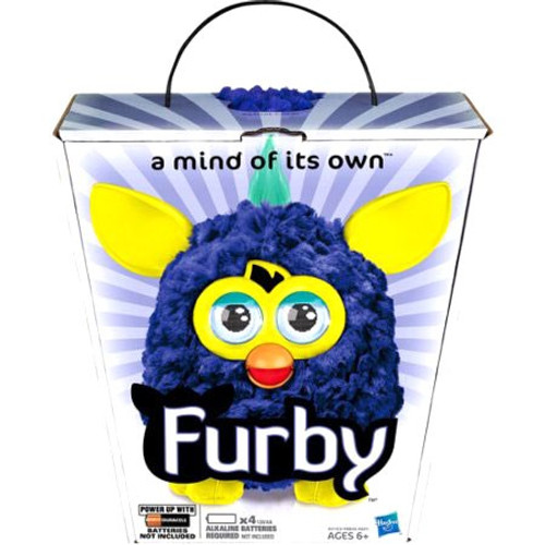 Furby Navy Blue with Light Blue Ears Figure [Twilight]