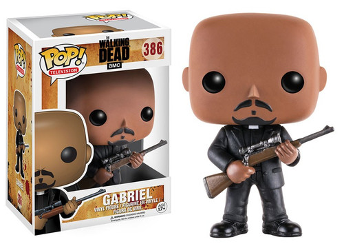 Funko The Walking Dead POP! TV Gabriel Vinyl Figure #386