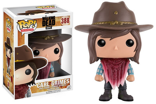 Funko The Walking Dead POP! TV Carl Grimes Vinyl Figure #388