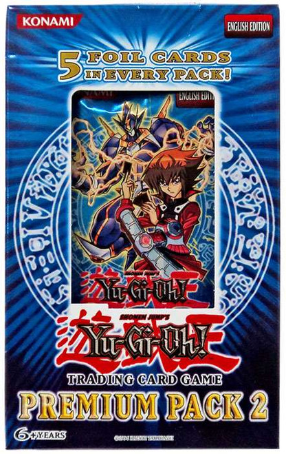 YuGiOh Trading Card Game Premium Pack 2 Special Edition