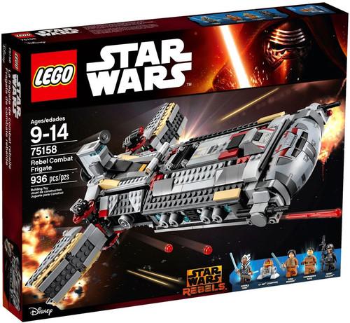 LEGO Star Wars Rebels Rebel Combat Frigate Set #75158