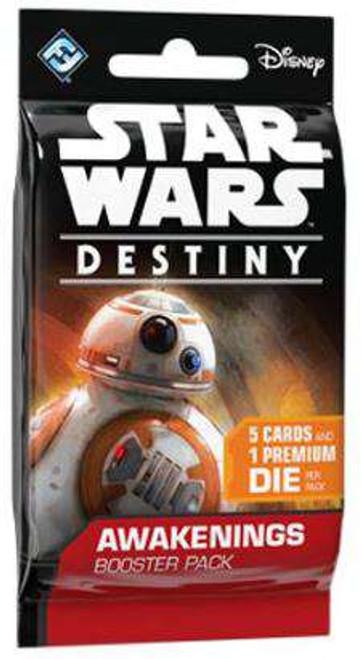 Star Wars Destiny Awakenings Booster Pack [5 Cards & 1 Die]